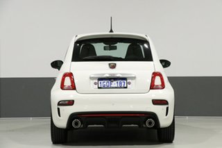 2017 Abarth 595 Series 4 Pearl White 5 Speed Automated Manual Hatchback