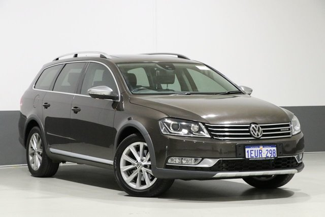 Used Volkswagen Passat 3C MY14 Alltrack, 2014 Volkswagen Passat 3C MY14 Alltrack Black 6 Speed Direct Shift Wagon