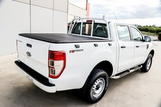 2014 Ford Ranger PX XL Double Cab 4x2 Hi-Rider White 6 Speed Manual Utility