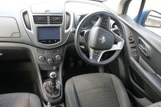 2014 Holden Trax TJ MY15 LS Blue 5 Speed Manual Wagon