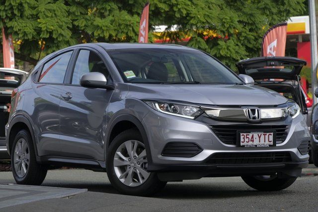 Demo Honda HR-V MY19 VTi, 2019 Honda HR-V MY19 VTi Lunar Silver 1 Speed Constant Variable Hatchback