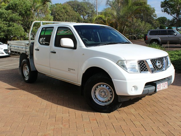 Used Nissan Navara D40 S8 RX, 2014 Nissan Navara D40 S8 RX White 6 Speed Manual Cab Chassis