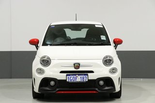 2017 Abarth 595 Series 4 Pearl White 5 Speed Automated Manual Hatchback.