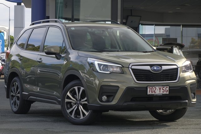 Demo Subaru Forester S5 MY19 2.5i CVT AWD, 2018 Subaru Forester S5 MY19 2.5i CVT AWD Jasper Green Metallic 7 Speed Constant Variable Wagon