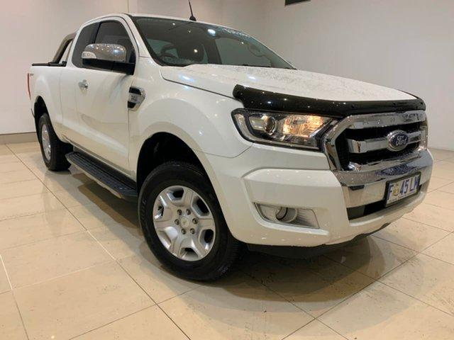 Used Ford Ranger PX MkII XLT Super Cab 4x2 Hi-Rider, 2016 Ford Ranger PX MkII XLT Super Cab 4x2 Hi-Rider White 6 Speed Sports Automatic Utility