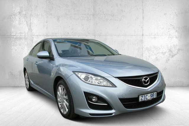 Used Mazda 6 GH1052 MY12 Touring, 2012 Mazda 6 GH1052 MY12 Touring 5 Speed Sports Automatic Sedan