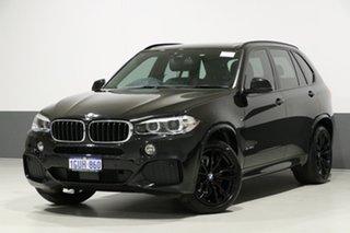 2018 BMW X5 F15 MY16 xDrive 30D Black 8 Speed Automatic Wagon.