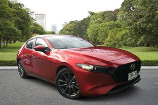 2019 Mazda 3 BP2HLA G25 SKYACTIV-Drive Evolve Soul Red 6 Speed Sports Automatic Hatchback.