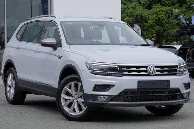 Demo Volkswagen Tiguan 5N MY18 132TSI Comfortline DSG 4MOTION Allspace, 2018 Volkswagen Tiguan 5N MY18 132TSI Comfortline DSG 4MOTION Allspace White Silver 7 Speed