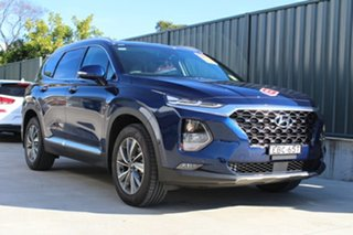 2018 Hyundai Santa Fe TM MY19 Elite Stormy Sea 8 Speed Sports Automatic Wagon.