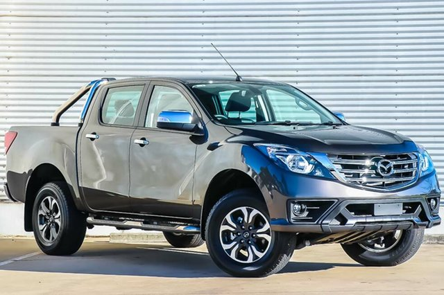 New Mazda BT-50 UR0YG1 GT, 2018 Mazda BT-50 UR0YG1 GT Titanium Flash Mica 6 Speed Sports Automatic Utility