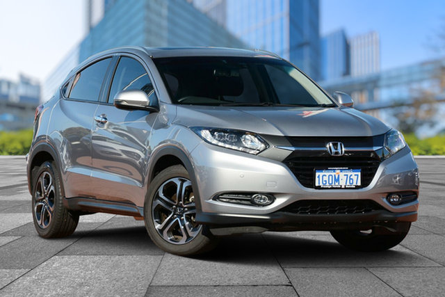 Demo Honda HR-V MY17 VTi-L, 2018 Honda HR-V MY17 VTi-L Lunar Silver 1 Speed Constant Variable Hatchback
