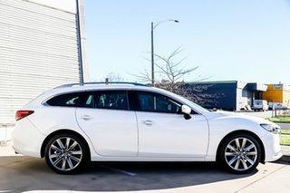 2018 Mazda 6 GL1032 GT SKYACTIV-Drive Snowflake White Pearl 6 Speed Sports Automatic Wagon