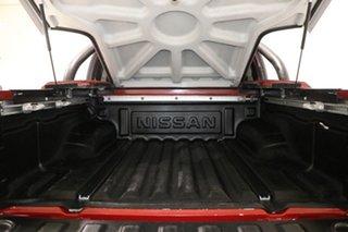 2010 Nissan Navara D40 Series 4 ST-X (4x4) Red 6 Speed Manual Dual Cab Pick-up