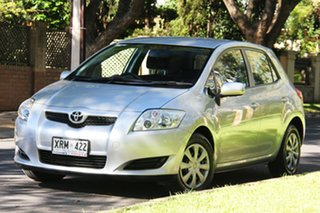 2007 Toyota Corolla ZRE152R Ascent Silver 6 Speed Manual Hatchback.