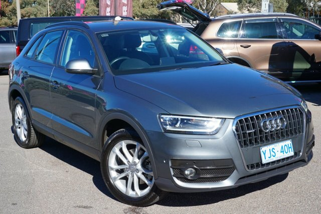 Used Audi Q3 8U MY13 TFSI S Tronic Quattro, 2013 Audi Q3 8U MY13 TFSI S Tronic Quattro Grey 7 Speed Sports Automatic Dual Clutch Wagon