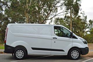 2017 Ford Transit Custom VN 290S Low Roof SWB Frozen White/grey Tr 6 Speed Manual Van.