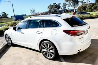 2018 Mazda 6 GL1032 GT SKYACTIV-Drive Snowflake White Pearl 6 Speed Sports Automatic Wagon.