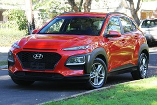 2018 Hyundai Kona OS MY18 Active 2WD Tangerine Scream 6 Speed Sports Automatic Wagon.