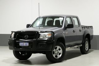 2011 Mazda BT-50 09 Upgrade Boss B3000 DX (4x4) Silver 5 Speed Automatic Dual Cab Pick-up.