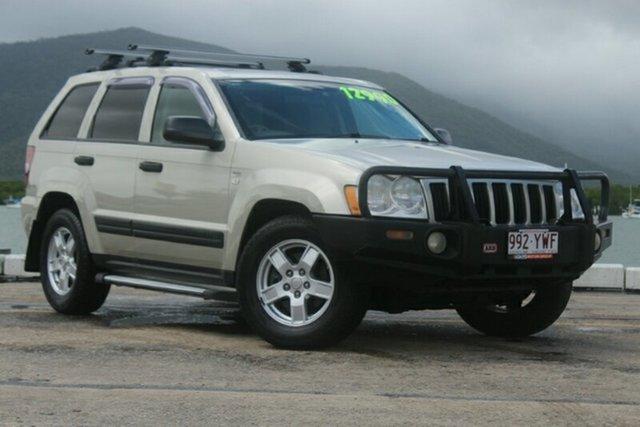 Used Jeep Grand Cherokee WH MY2007 Laredo, 2008 Jeep Grand Cherokee WH MY2007 Laredo Gold 5 Speed Automatic Wagon