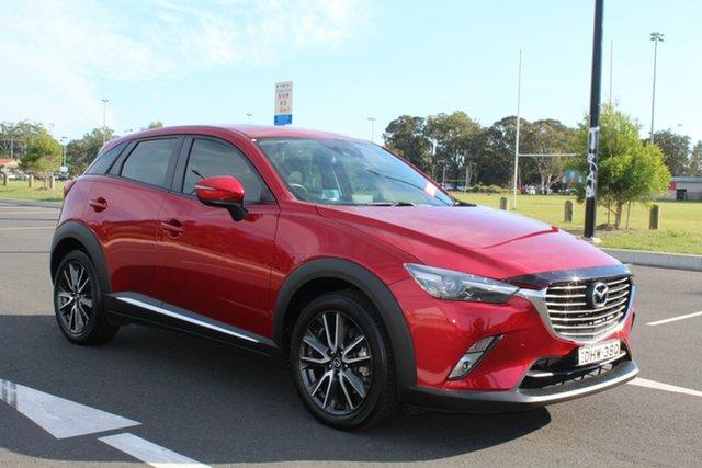 Used Mazda CX-3 DK4W7A Akari SKYACTIV-Drive i-ACTIV AWD, 2016 Mazda CX-3 DK4W7A Akari SKYACTIV-Drive i-ACTIV AWD Soul Red 6 Speed Sports Automatic Wagon