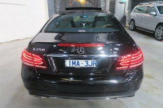 2013 Mercedes-Benz E250 C207 MY13 7G-Tronic + Black 7 Speed Sports Automatic Coupe