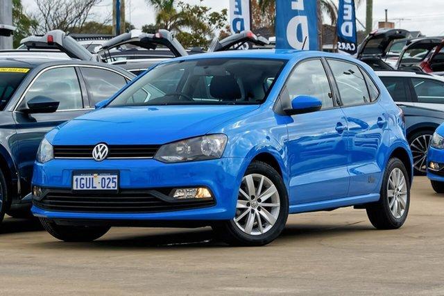 Used Volkswagen Polo 6R MY17.5 66TSI DSG Urban, 2017 Volkswagen Polo 6R MY17.5 66TSI DSG Urban Blue 7 Speed Sports Automatic Dual Clutch Hatchback