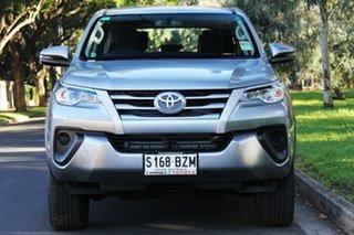 2019 Toyota Fortuner GUN156R GX Silver Sky 6 Speed Automatic Wagon.