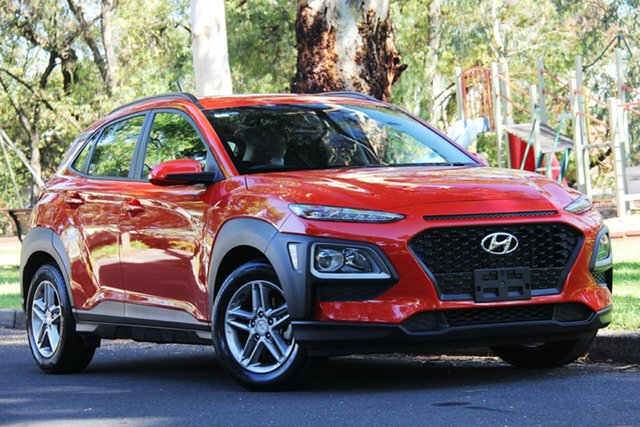 Used Hyundai Kona OS MY18 Active 2WD, 2018 Hyundai Kona OS MY18 Active 2WD Tangerine Scream 6 Speed Sports Automatic Wagon