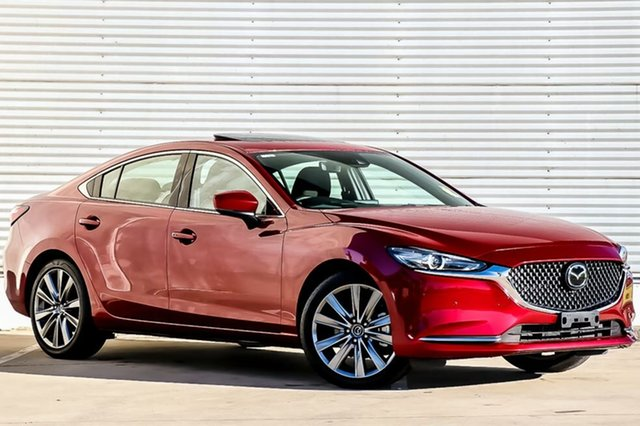 New Mazda 6 GL1022 Atenza SKYACTIV-Drive, 2018 Mazda 6 GL1022 Atenza SKYACTIV-Drive Soul Red Crystal 6 Speed Sports Automatic Sedan