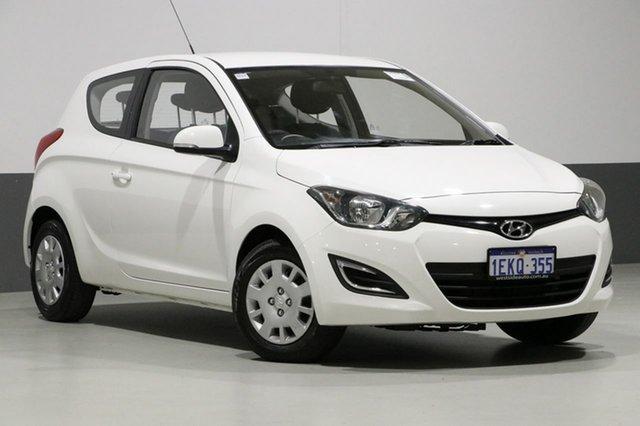 Used Hyundai i20 PB MY14 Active, 2014 Hyundai i20 PB MY14 Active White 6 Speed Manual Hatchback