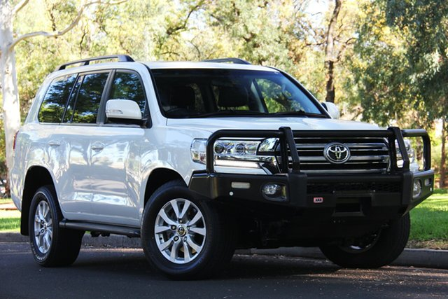 Used Toyota Landcruiser VDJ200R VX, 2017 Toyota Landcruiser VDJ200R VX White 6 Speed Sports Automatic Wagon