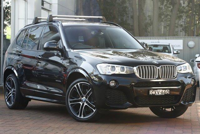 Used BMW X3 F25 LCI MY0414 xDrive30d Steptronic, 2014 BMW X3 F25 LCI MY0414 xDrive30d Steptronic Black 8 Speed Sports Automatic Wagon