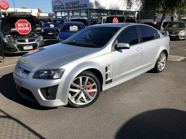 Used Holden Special Vehicles ClubSport E Series MY09 R8, 2008 Holden Special Vehicles ClubSport E Series MY09 R8 Silver 6 Speed Manual Sedan