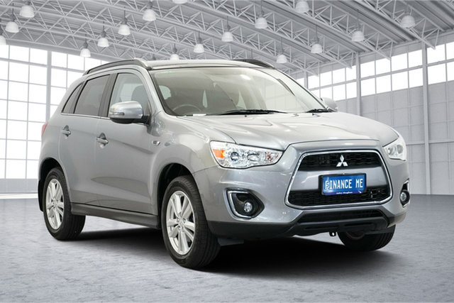 Used Mitsubishi ASX XB MY14 Aspire 2WD, 2014 Mitsubishi ASX XB MY14 Aspire 2WD Silver 6 Speed Constant Variable Wagon