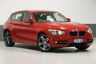 2013 BMW 118i F20 MY13 Sport Line Red 8 Speed Automatic Hatchback.