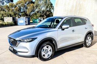 2018 Mazda CX-5 KF2W7A Maxx SKYACTIV-Drive FWD Sonic Silver 6 Speed Sports Automatic Wagon.