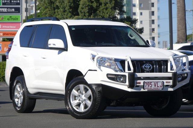 Used Toyota Landcruiser Prado KDJ150R MY14 GXL, 2014 Toyota Landcruiser Prado KDJ150R MY14 GXL Glacier 5 Speed Sports Automatic Wagon