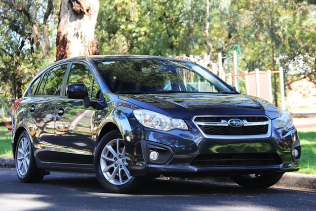 Used Subaru Impreza G4 MY13 2.0i AWD, 2013 Subaru Impreza G4 MY13 2.0i AWD Graphite 6 Speed Manual Hatchback