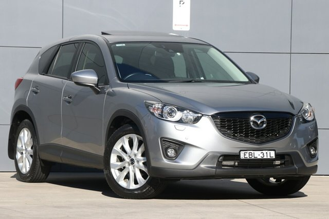 Used Mazda CX-5 KE1021 Grand Touring SKYACTIV-Drive AWD, 2012 Mazda CX-5 KE1021 Grand Touring SKYACTIV-Drive AWD Aluminium 6 Speed Sports Automatic Wagon