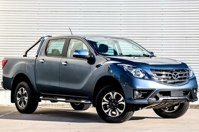 New Mazda BT-50 UR0YG1 GT, 2018 Mazda BT-50 UR0YG1 GT Blue Reflex 6 Speed Sports Automatic Utility