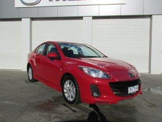 2012 Mazda 3 BL1072 SP20 SKYACTIV-Drive SKYACTIV Red 6 Speed Sports Automatic Sedan.
