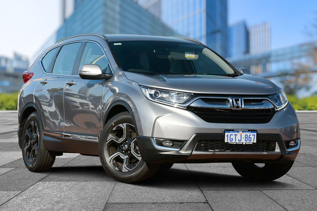 Demo Honda CR-V RW MY19 VTi-S FWD, 2019 Honda CR-V RW MY19 VTi-S FWD Lunar Silver 1 Speed Constant Variable Wagon