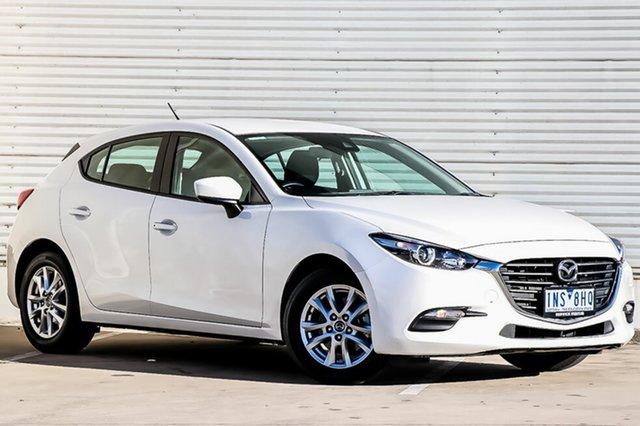 Demo Mazda 3 BN5478 Neo SKYACTIV-Drive Sport, 2018 Mazda 3 BN5478 Neo SKYACTIV-Drive Sport Snowflake White Pearl 6 Speed Sports Automatic