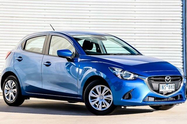Demo Mazda 2 DJ2HAA Neo SKYACTIV-Drive, 2018 Mazda 2 DJ2HAA Neo SKYACTIV-Drive Dynamic Blue 6 Speed Sports Automatic Hatchback