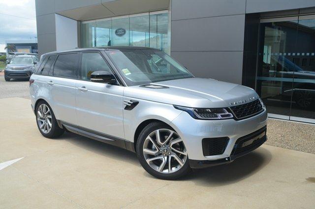 Demo Land Rover Range Rover Sport L494 HSE, 2018 Land Rover Range Rover Sport L494 HSE Indus Silver 8 Speed Automatic SUV