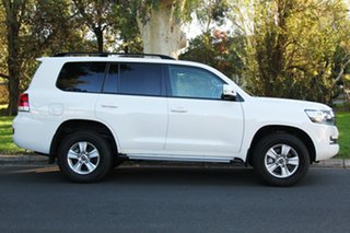 2018 Toyota Landcruiser VDJ200R GXL White 6 Speed Sports Automatic Wagon