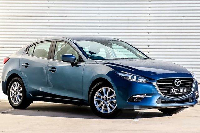 Demo Mazda 3 BN5278 Maxx SKYACTIV-Drive Sport, 2018 Mazda 3 BN5278 Maxx SKYACTIV-Drive Sport Eternal Blue 6 Speed Sports Automatic Sedan