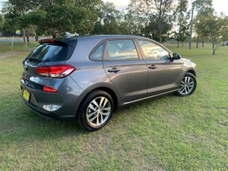 2018 Hyundai i30 PD MY18 Active D-CT Iron Gray 7 Speed Sports Automatic Dual Clutch Hatchback